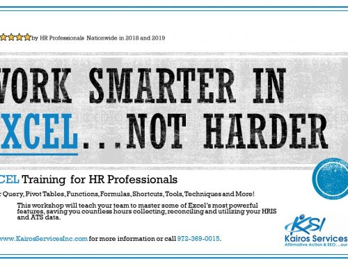 Excel Training for HR Professionals