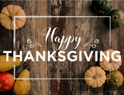 Thanksgiving Message to Our Clients