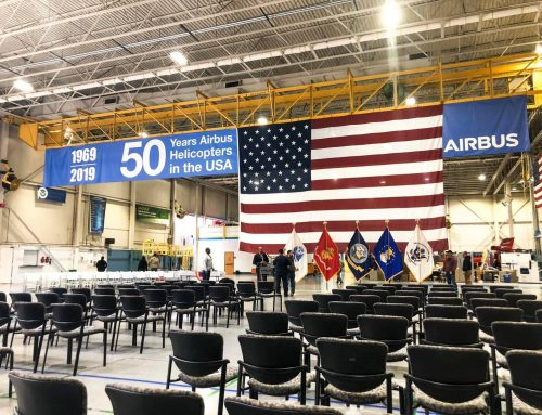 Nicolas Paul Selected as Keynote Speaker for Airbus Veteran's Day Event